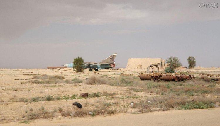 Photo of صور من داخل مطار التيفور العسكري بعد الغارة الإسرائيلية .