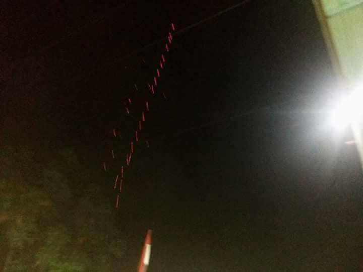 Photo of اطلاق النار على طائرة مسيرة فوق قاعدة حميميم