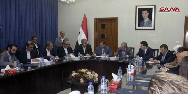 Photo of سورية وإيران تبحثان التعاون في مجالات التعمير خلال مرحلة إعادة الإعمار