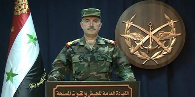 "Photo of ""قيادة الجيش"" تٌعلن دمشق وريفها خالية من الإرهاب تماماً"