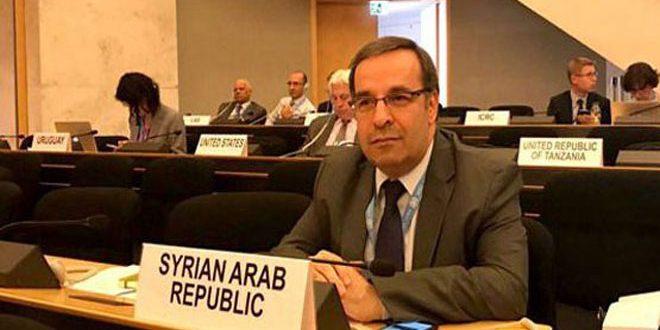 Photo of سورية تترأس مؤتمر نزع السلاح التابع للأمم المتحدة