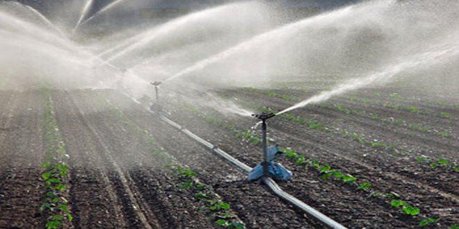 Photo of توزيع شبكات ري ضمن منحة المشروع الوطني للزراعات الأسرية بالسويداء