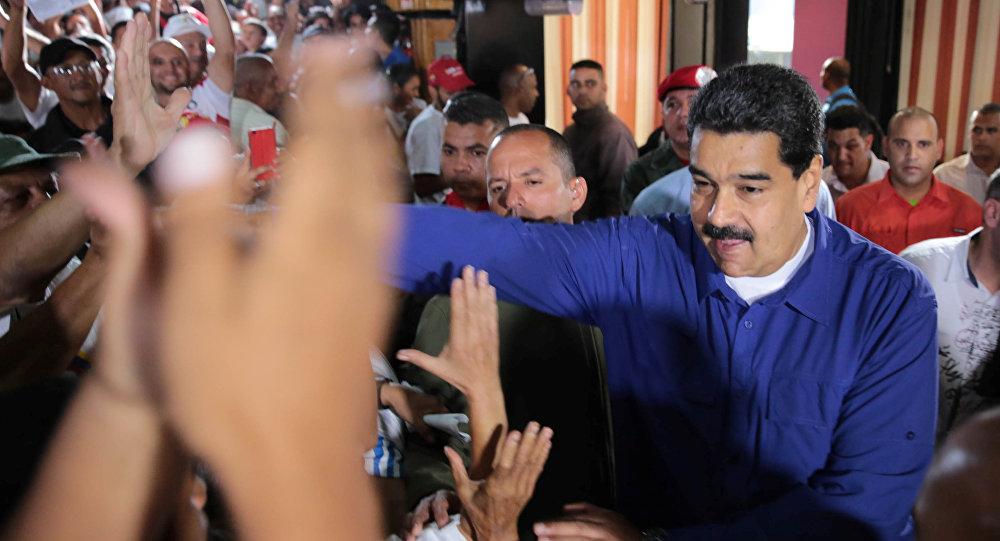 Photo of مادورو يفوز بولاية رئاسية ثانية في فنزويلا