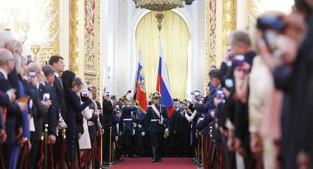 Photo of مراسم تنصيب فلاديمير بوتين رئيسا لروسيا (فيديو)