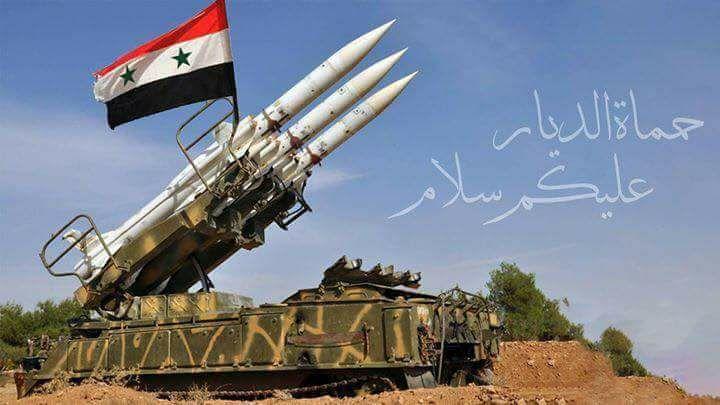 Photo of دفاعاتنا الجوية تتصدى لعدوان صاروخي على أحد المطارات العسكرية بريف حمص