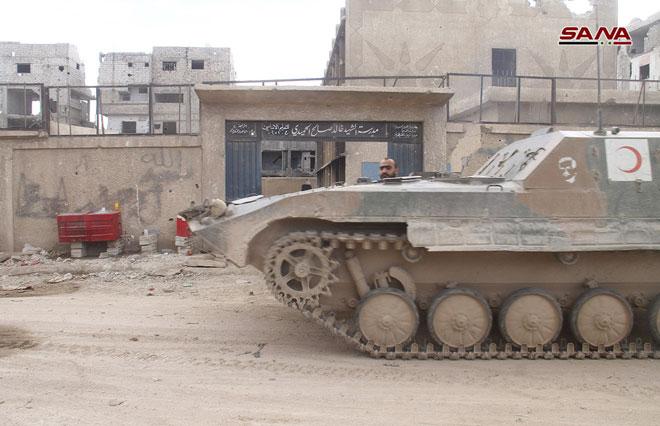 Photo of الجيش يواصل عملياته بالحجر الأسود