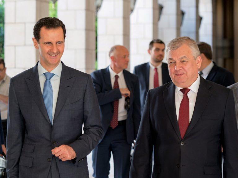 Photo of رسالة من بوتين للأسد يٌهنئه بانتصار دمشق