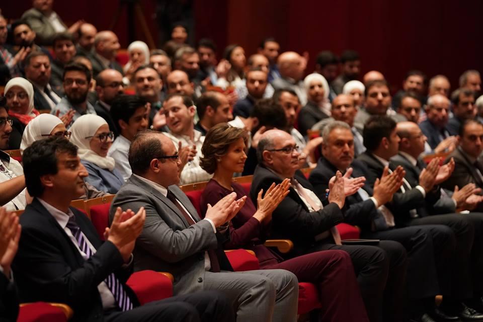 """Photo of بحضور السيدة أسماء الأسد إختتام برنامج """" تكوين"""" لشباب السوري المبدع"""