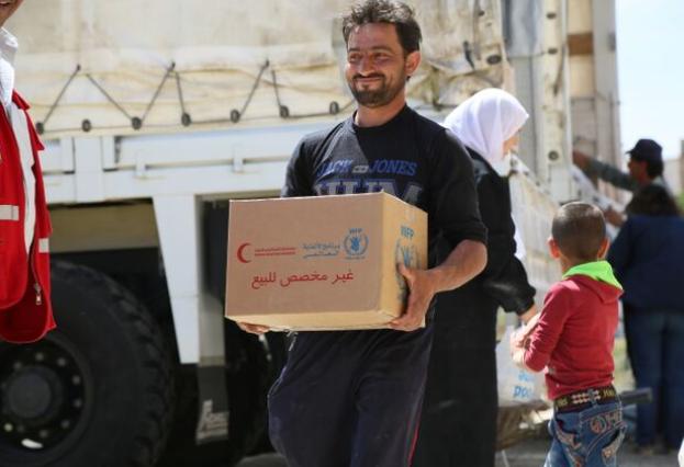 "Photo of مساهمات ""برنامج الأغذية العالمي"" للسوريين  خلال العام 2017"