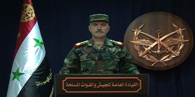 "Photo of (فيديو) بيان قيادة الجيش حول ""العدوان الاسرائيلي"" فجر اليوم"
