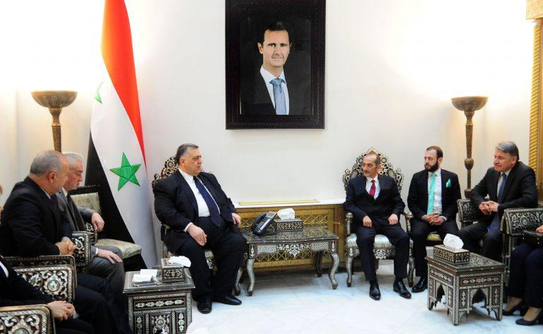 Photo of وفد تركي يزور دمشق