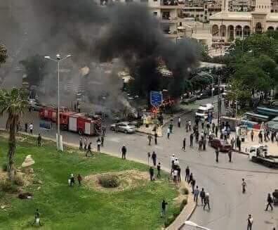 Photo of شهيد و 10 إصابات بقذائف إرهابية بدمشق