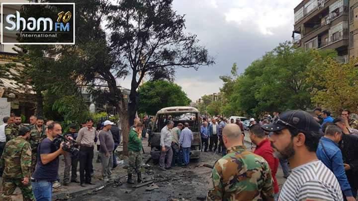 Photo of صور- مكان سقوط القذيفة الصاروخية بساحة الميسات