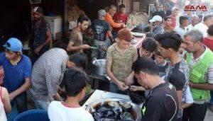 Photo of First Ramadan after siege was broken: Deir Ezzor locals enjoy a safe Ramadan