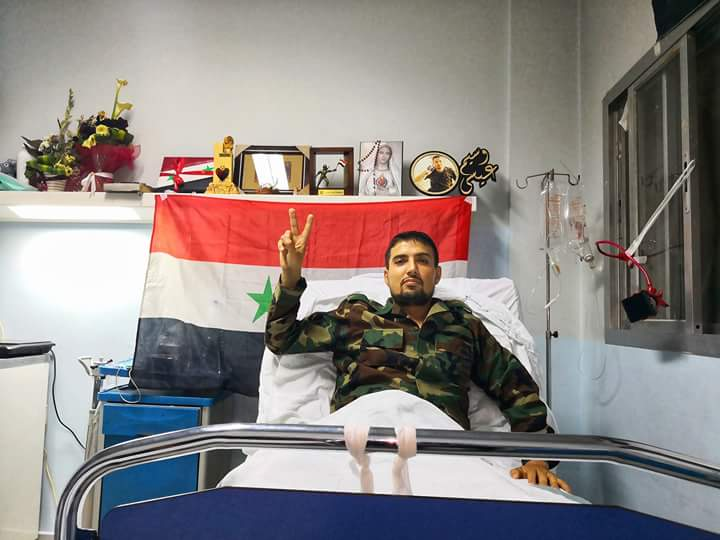 "Photo of ""وسيم عيسى"" عاد مبتسماً منتصراً على جراحه"