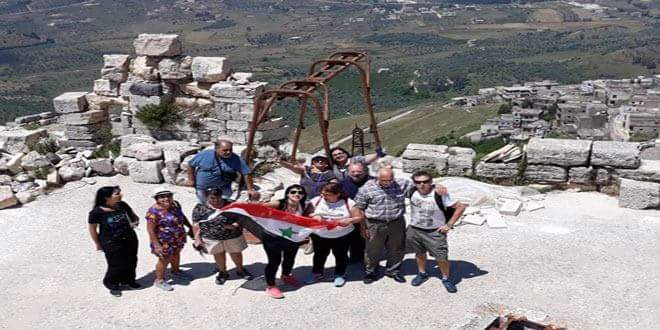 Photo of From Argentina, Syrian expatriates visit Syria, tour tourist attractions
