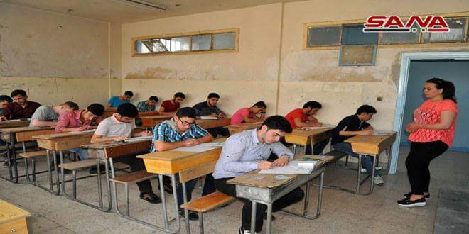 Photo of 224,105 students start high school final exams in Syrian provinces