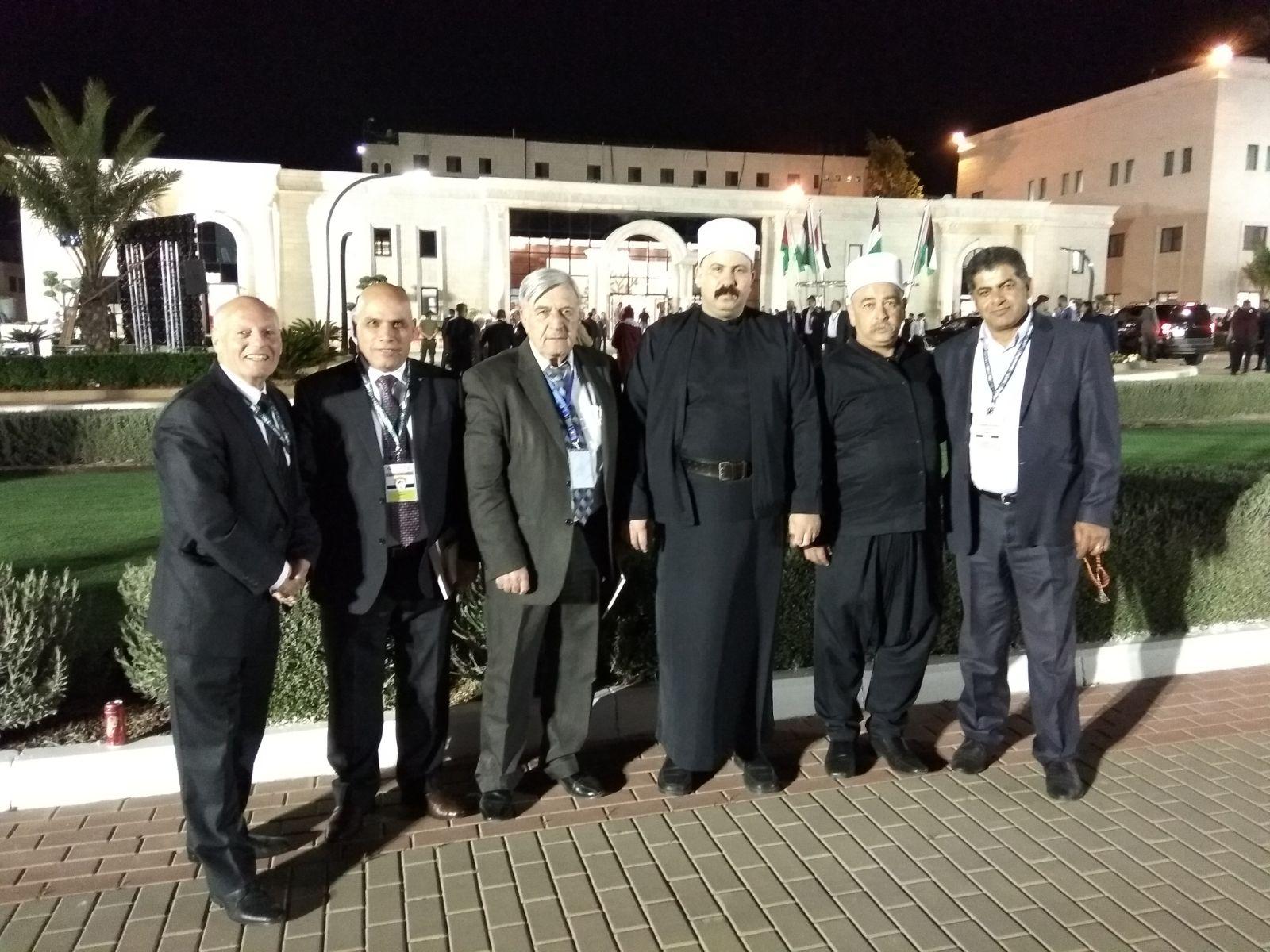 Photo of الحركة الوطنيّة للتواصل تشارك في افتتاح المجلس الوطنيّ الفلسطينيّ