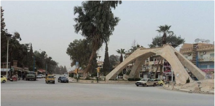 Photo of People of Hasaka protest against Asayish members' practices
