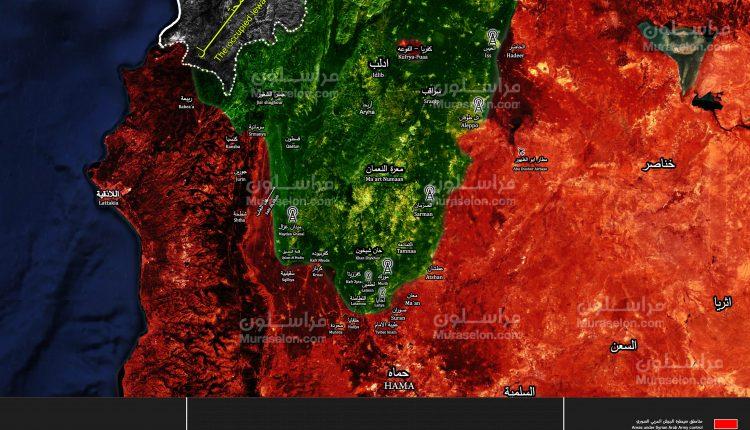 Photo of الجيش التركي يثبت نقطة مراقبة قرب سهل الغاب بريف حماة ( خريطة )