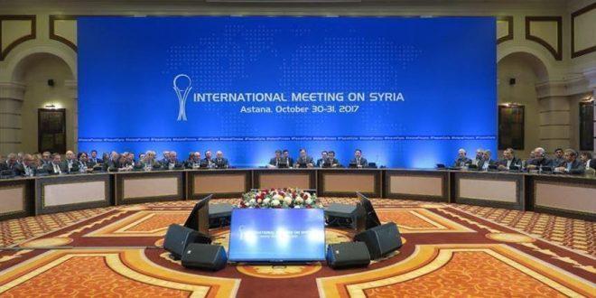 Photo of جولة أستانا التاسعة حول سوريا منتصف الشهر الحالي