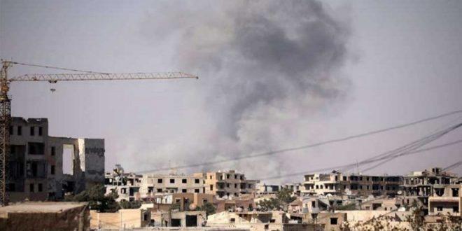 "Photo of انفجار قرب قاعدة لـ""التحالف"" بالرقة تضم أمريكيين وفرنسيين"