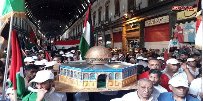 Photo of دمشق تُحيي اليوم القدس العالمي