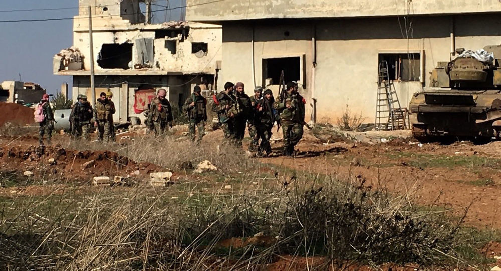 "Photo of الجيش يٌدّمر مدرعات بمن فيها من ""إرهابيي النصرة"" جنوبي البلاد"