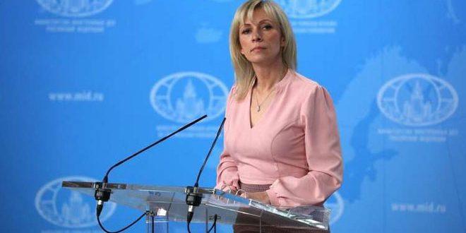 """Photo of زاخاروفا: تقرير """"حظر الأسلحة الكيميائية"""" مثير للعزل"""