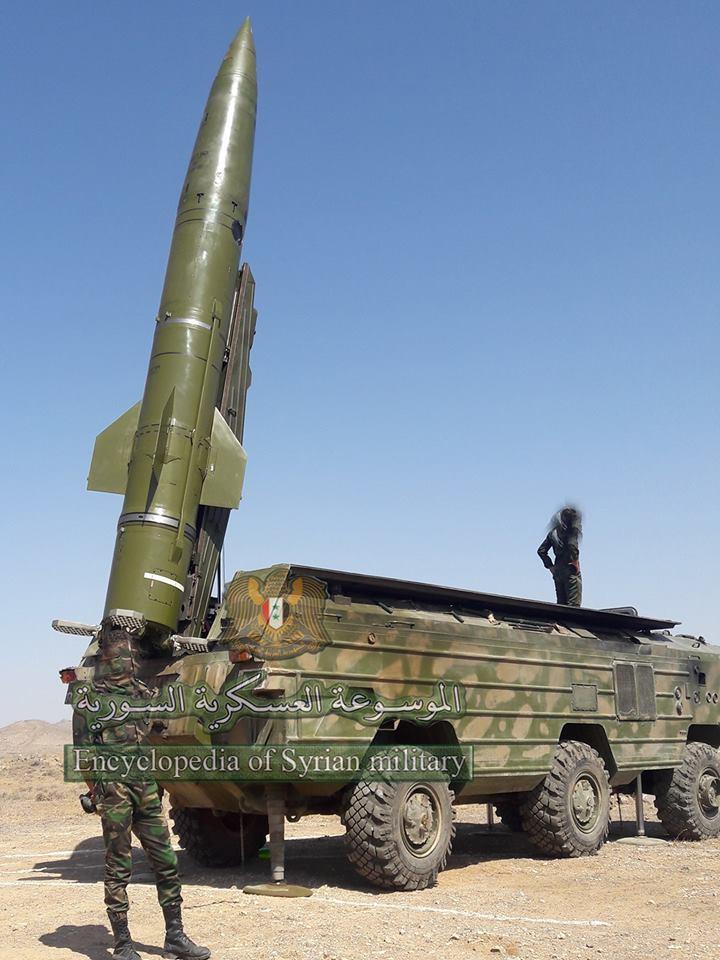 Photo of صاروخ متطور بعيد المدى في يد الجيش العربي السوري جاهز للقتال