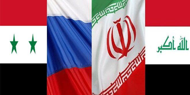 "Photo of اجتماع ""روسي – ايراني- سوري- عراقي"" لتعزيز الأمن المشترك"