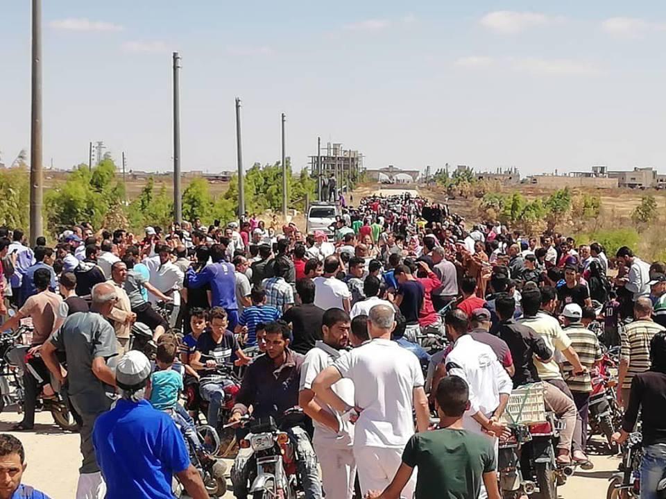 """Photo of """"ابطع – داعل"""" تعود لحضن الجيش العربي السوري"""
