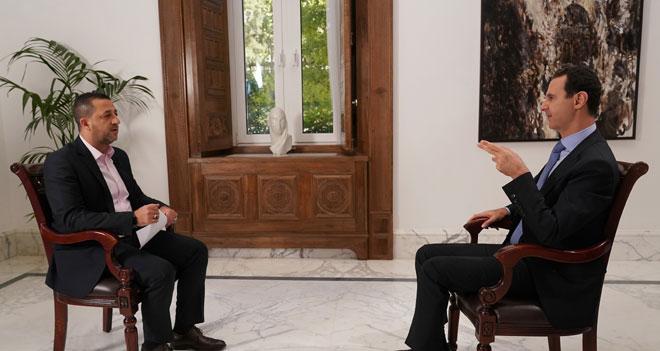 """Photo of الأسد: الرد الأقوى ضد """"إسرائيل"""" هو ضرب إرهابييها في سورية"""