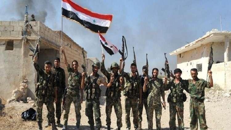 "Photo of ""بصر الحرير-اللجاة"" تحت سيطرة الجيش"