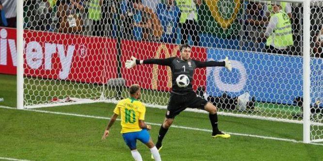 منتخب البرازيل تفوز على نظيره الصربي (2-0)