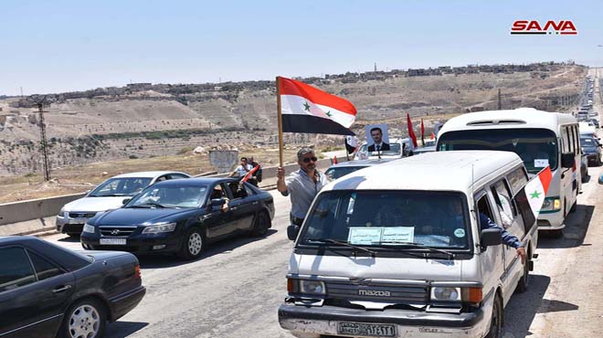 Photo of افتتاح أوتستراد حمص حماة الدولي أمام حركة النقل للعموم