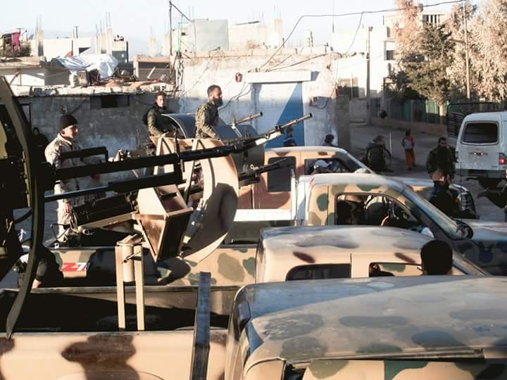 "Photo of الجيش يواصل تعزيز مواقعه تمهيداً لمعركة ""درعا- القنيطرة"""