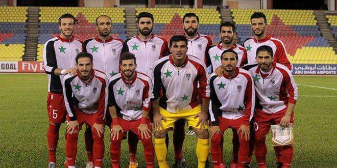Photo of Syrian football team in best rank in its history according FIFA World Ranking