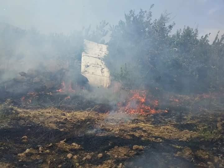 Photo of لليوم العاشر.. حرائق مفتعلة بالكروم الجنوبية لحضر (صور)