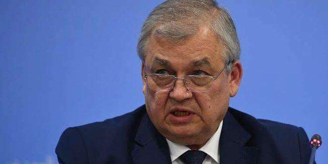 Photo of Lavrentiev: Russia determined to fight terrorism in Syria