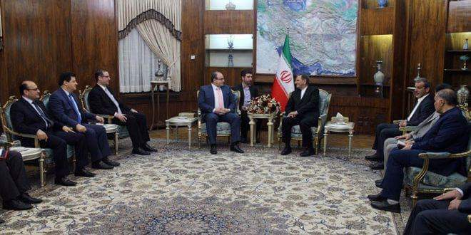 Photo of Jahangiri: Tehran stands by Syria during reconstruction process