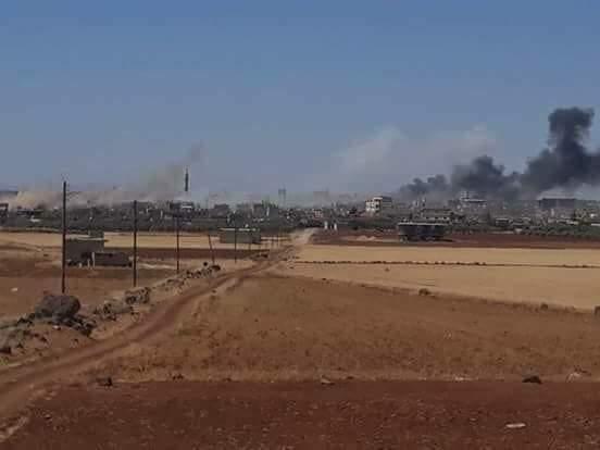 Photo of تمهيد مدفعي وصاروخي على أوكار الارهاب بدرعا