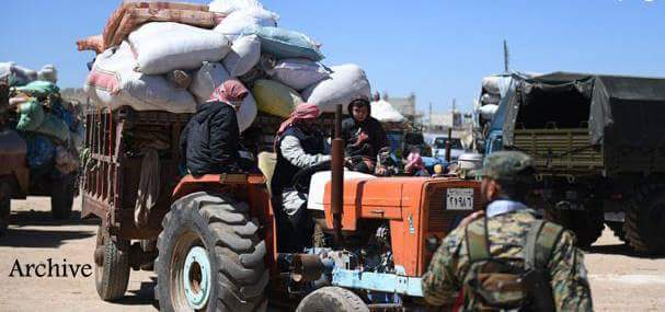Photo of Displaced families return to villages cleansed of terrorism in countryside of Aleppo and Idleb
