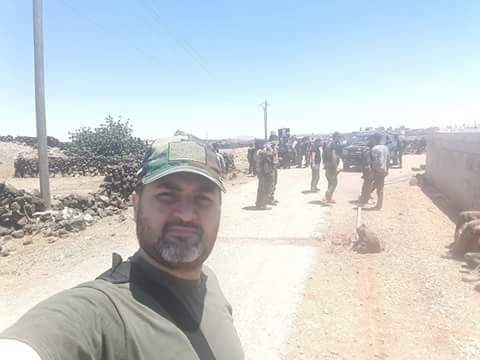 Photo of الجيش يبدأ باقتحام قرية جدل بريف درعا