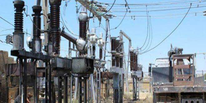 Photo of Power Outage in Daraa City Due to Terrorist Attack