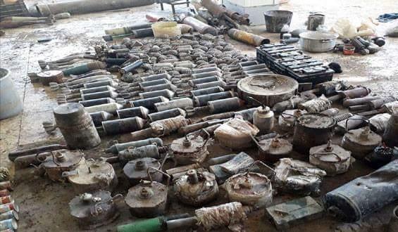 Photo of Authorities dismantle IEDs and landmines left by terrorists in Beit Sahem, Babila, Yalda