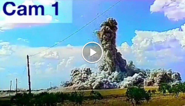 Photo of (فيديو) تدمير مقر لإرهابيي النصرة بريف ادلب