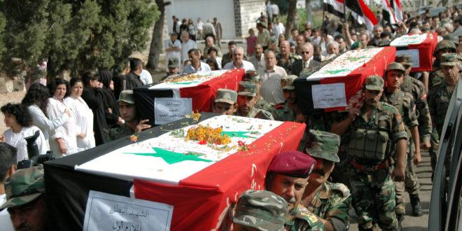 Photo of بالأسماء- شهداء العدوان الامريكي على مواقع الجيش بالبوكمال