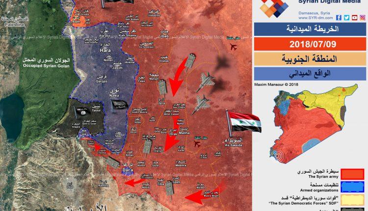 Photo of الجيش السوري يغلق الحدود الأردنية