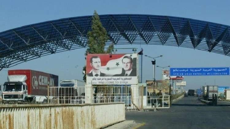 Photo of أسطول نقل حلبي لشحن البضائع إلى معبر نصيب